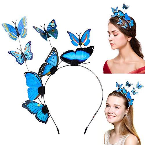 Aniwon Butterfly Headbands for Women, Hair Hoop Hair Band