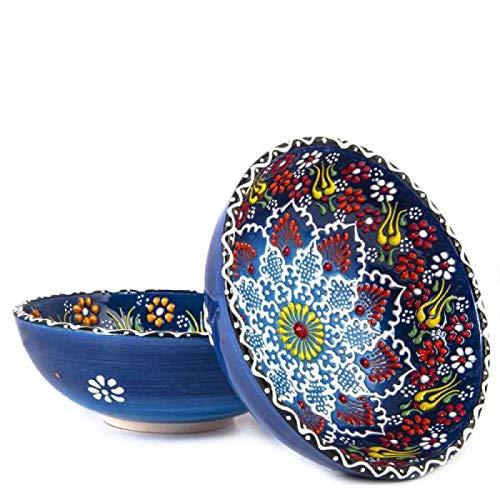 Bols,Bol cocina Bowl Especial Estampado Bowl Ceramic Bowl Bordado a mano Bowl Cookie Bowl Decoration Blue