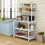 Tribesigns 5-Tier Kitchen Bakers Rack with Hutch, Industrial...