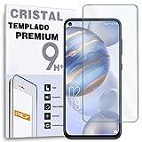 REY Protector de Pantalla para OUKITEL C21, Cristal Vidrio Templado Premium