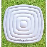 MSpa Bladder Wärmespeicher und Regenablaufblase, quadratisch, passend 4 Personen, Square Spa Alpine AL04 / Lite, weiß