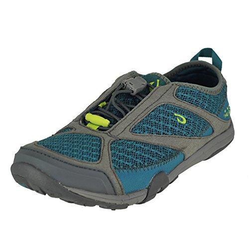 OluKai 'eleu Trainer - Women's Athletic Shoes Sea Green/Charcoal - 6.5