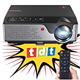 Proyector FULLHD Cine en casa portatil con TDT Unicview SG100 Negro lampara LED...