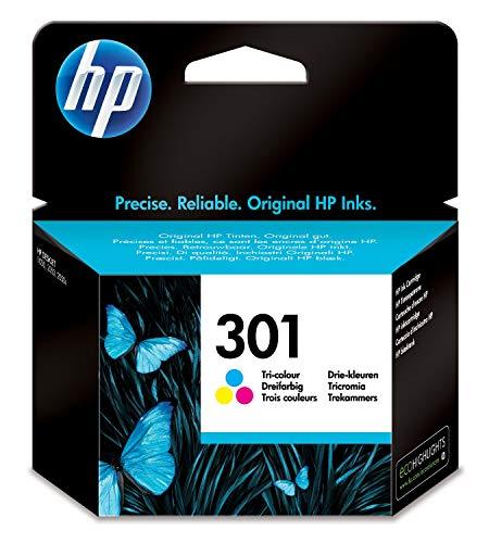 HP 301 Cartouche d'Encre Trois Couleurs Authentique (CH562EE)