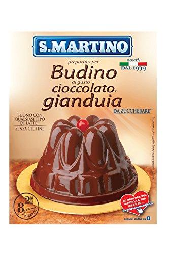 S.Martino Budino Gianduia, senza Glutine - Astuccio da 96 gr