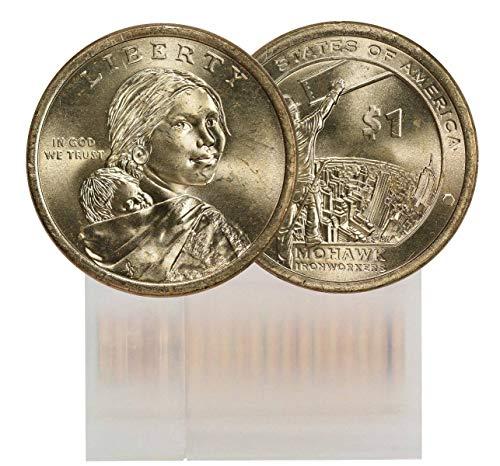 2015 P Sacagawea 25-Coin Dollar Roll BU