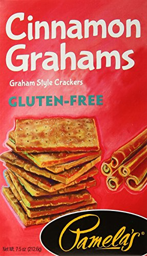 Pamela's Products Grahams Style Crackers Cinnamon, 7.5 Ounce