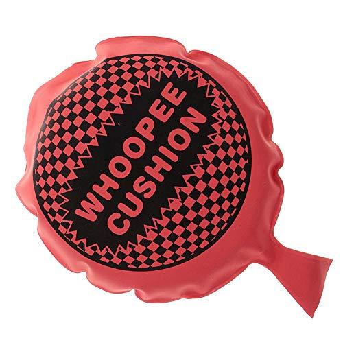 Cojín Whoopee Autoinflable Farting Bolsa Bromas Bromas Mordazas del Partido De Los Inocentes Bromas De Broma Juguetes para Halloween Niños Niños Adultos Rojas