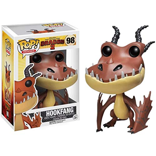 FreeStar Funko Pop Movies : How to Train Your Dragon 2 - Hookfang 3.75inch Vinyl Gift for Anime Fans Multicolur