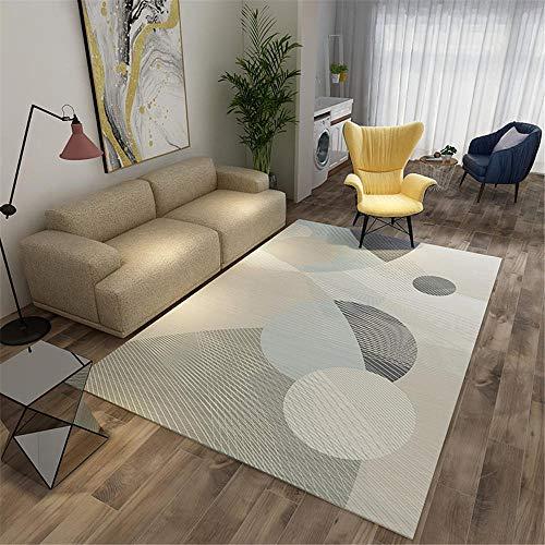 Kunsen alfombras para Salon Alfombra Gaming Suelo Alfombra para habitación de niños Dormitorio Moderno decoración de Sala de Estar Rectangular Suave mesas Comedor Grandes 140X200CM 4ft 7.1' X6ft 6.7'