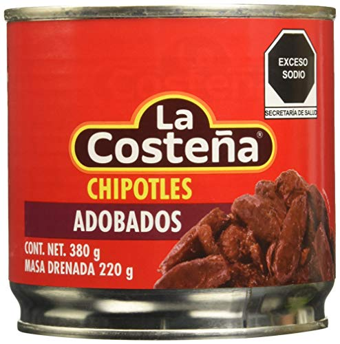 CHIPOTLE EN ADOBO 380gr LA COSTEÑA