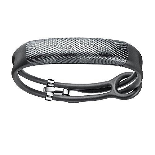 Jawbone UP2 by Braccialetto Monitoraggio Sonno e attività Fisica, Bracciale Sottile, Gunmetal Hex Rope