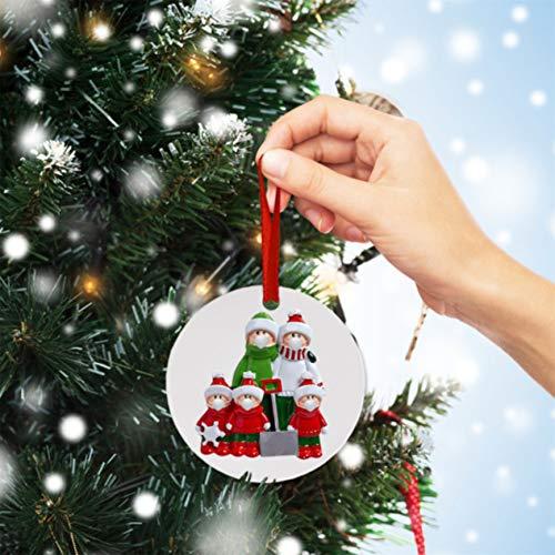 LHHA 2020 Weihnachtsfeier Dekoration personalisierte Familie der Ornament Weihnachtsgeschenk