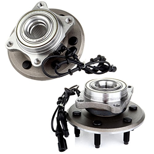 OCPTY New Wheel Hub Bearings Rear 6 Lugs w/ABS Compatible For Ford Expedition...