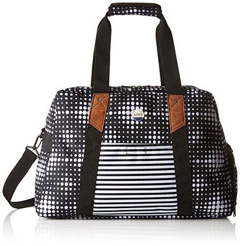 Roxy Damen Sugar It Up Mittelgroße Sporttasche, Anthracite Beachouse Geo, 49.5 x 18.5 x 32 cm