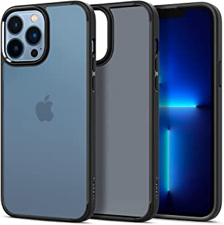 SPIGEN Ultra Hybrid Case Designed for Apple iPhone 13 Pro Max (2021)[6.7-inch] Air Cushion Bumper Hard Cover - Frost Black