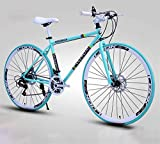 Bicicleta de carretera de la ciudad de cercanías, Las bicicletas de los hombres y de las mujeres de carretera, bicicletas de 26 pulgadas, sólo for adultos, marco de acero al carbono de alta, camino de