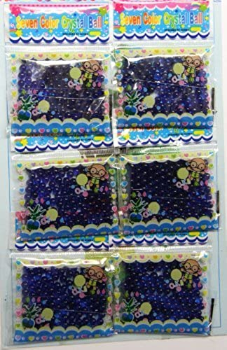 12 Bags Blau Farbes of Magic Grüng Jelly Ball by Gift Square D  r