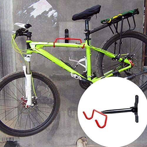 Bike Rack For Garage,Bicycle Bike Cycling MTB Storage Hanger Garage Wall Mount Hook Holder Rack Stand