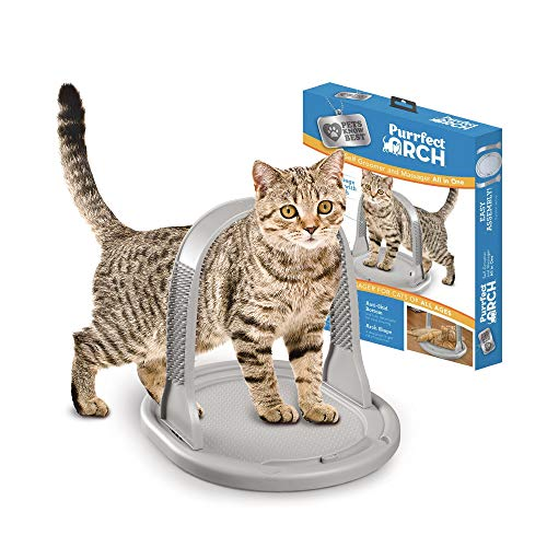 Purrfect Deluxe Cat Self Grooming and Massaging Toy