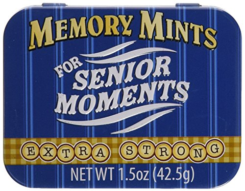 Memory Mints for Senior Moments Fun Gag Tin