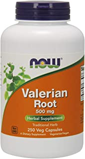 NOW Supplements, Valerian Root 500 mg, 250 Veg Capsules