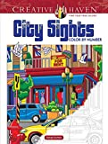 Creative Haven City Sights Color by Number (Adult Coloring) (Creative Haven Coloring Books)