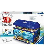 Ravensburger 3D Puzzle 11174 - Schatztruhe Unterwasserwelt - 216 Teile