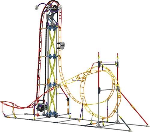 Chicos- K'nex Classics, Montaña Rusa Electric Inferno Juego de Construcción (41213)