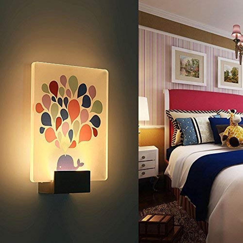 Wall Light Home Wandmontierte Led Wandleuchte Kreative Moderne Wohnzimmer Schlafzimmer Nachttischlampe Treppen Korridor Lampe Rechteckige Wandleuchte (Größe   P)