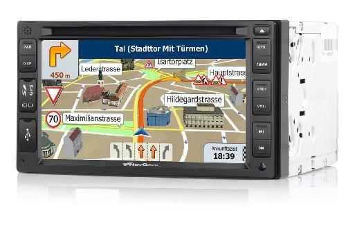 NavGear StreetMate 2-DIN-Autoradio mit 6
