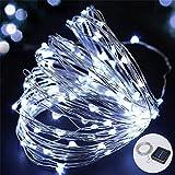 Bombilla Luces De Luz Solar Cadena Solar Luces De Hadas 4M 40Led Impermeable Al Aire Libre Guirnalda Lámpara De Energía Solar Navidad Para Decoración De Jardín-Blanco