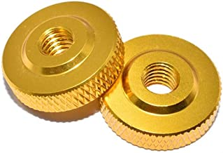 10 stks M4x14x5 Aluminiumlegering Schroefmoer for RC FPV Racing Drone (Color : Gold)