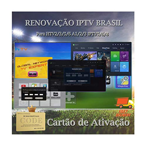 Cheapest Price! IPTV Brazil Renew Service 16 Digit Activation Code for Activate Portuguese Version o...