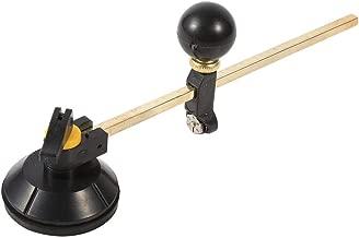 130 mm profesional seis ruedas cortador de vidrio Craft herramienta de kit de corte con mango de madera Yunnyp Glass Roller con mango de madera
