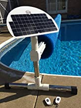 Automatic Solar Blanket Cover Reel / Roller - Remote Controlled, Solar Battery Charged / Powered, Motorized units for 20x40' in-ground swimming pools