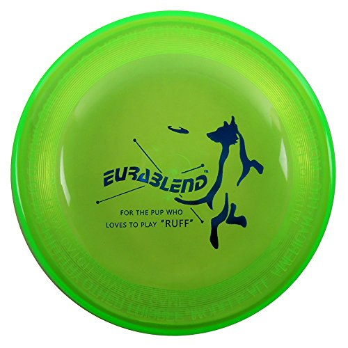 Wham-O Eurablend Fastback Frisbee High Durability K9 Dog Flying Disc - Green