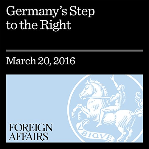Germany's Step to the Right cover art