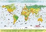 Terra Kinderweltkarte: 100cm x 70cm
