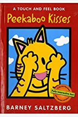 Peekaboo Kisses: A Touch and Feel Book (Touch and Feel Books (Red Wagon)) Board book
