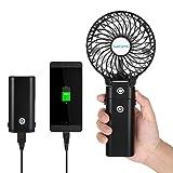 NACATIN Ventilateur Portable,Mini Ventilateur USB avec Batterie Rechargeable de...