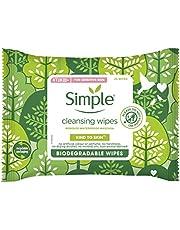 Simple Bio Cleansing Wipes, Voor Het Zachtjes Reinigen Van De Huid, Biologisch Afbreekbare Doekjes - 1 Pak - 20 Reinigingsdoekjes