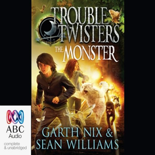 Troubletwisters 2: The Monster audiobook cover art