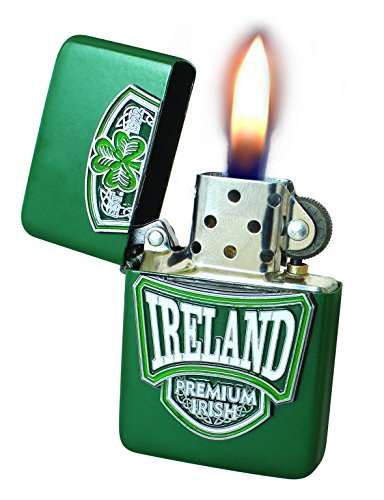 Wind-Proof Oil Lighter With College Design