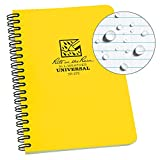 Rite in the Rain All-Weather Side-Spiral Notebook, 4 5/8' x 7', Yellow...