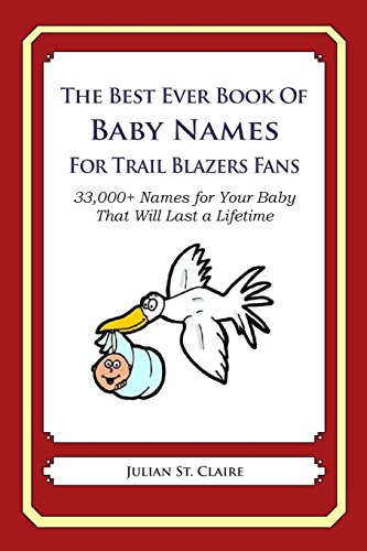 The Best Ever Book of Baby Names for Trail Blazers Fans
