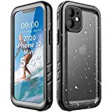 Cozycase Compatible with iPhone 12 Mini Waterproof Case -