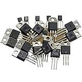 Kemo S107 Triac Assortimento, Set di circa 20 pezzi Assortimento misto, Vari valori fino a 800 Volt e fino a 16 Ampere