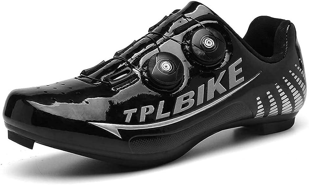Zapatos De Bicicleta para Hombre Y Zapatos De Scooter SPD Y Delta Compatibles, Adecuados para Zapatos De Bicicleta De Pedal para Hombres