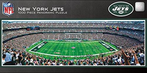 MasterPieces NFL New York Jets Stadium Panoramic Jigsaw Puzzle, 1000 Pieces